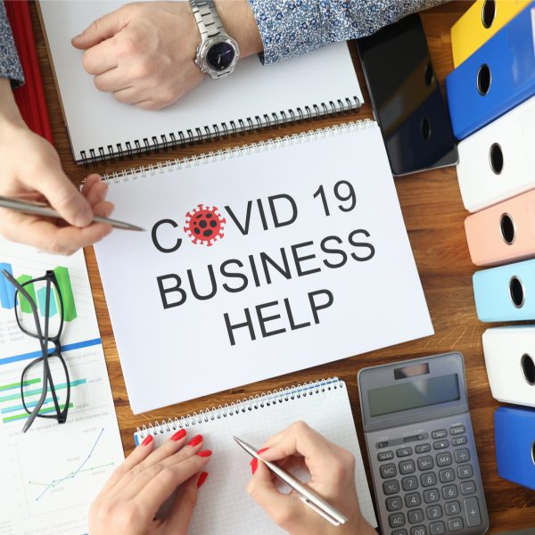 COVID-19 Business Support graphic